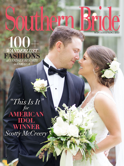 Southern Bride Magazine Winter 2019 Cover