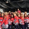 Scotty-with-the-New-England-Patriots-cheerleaders-at-the-Patriots-Fan-Rally-in-Houston-on-Feb.-4,-2017